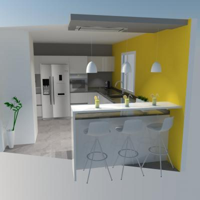 Cuisines quip es en vid or alisme et 3d rouen et barentin - 4 murs barentin ...