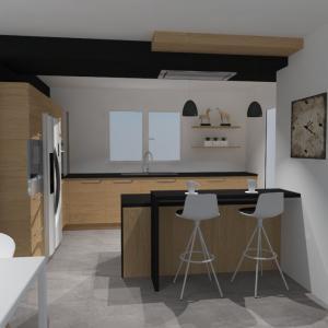 cuisines quip es en vid or alisme et 3d rouen et barentin. Black Bedroom Furniture Sets. Home Design Ideas