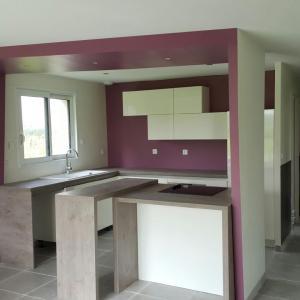 cuisine moderne avec lot ph nix gris anthracite et bois. Black Bedroom Furniture Sets. Home Design Ideas