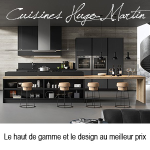 cuisine moderne gris anthracite et bois. Black Bedroom Furniture Sets. Home Design Ideas