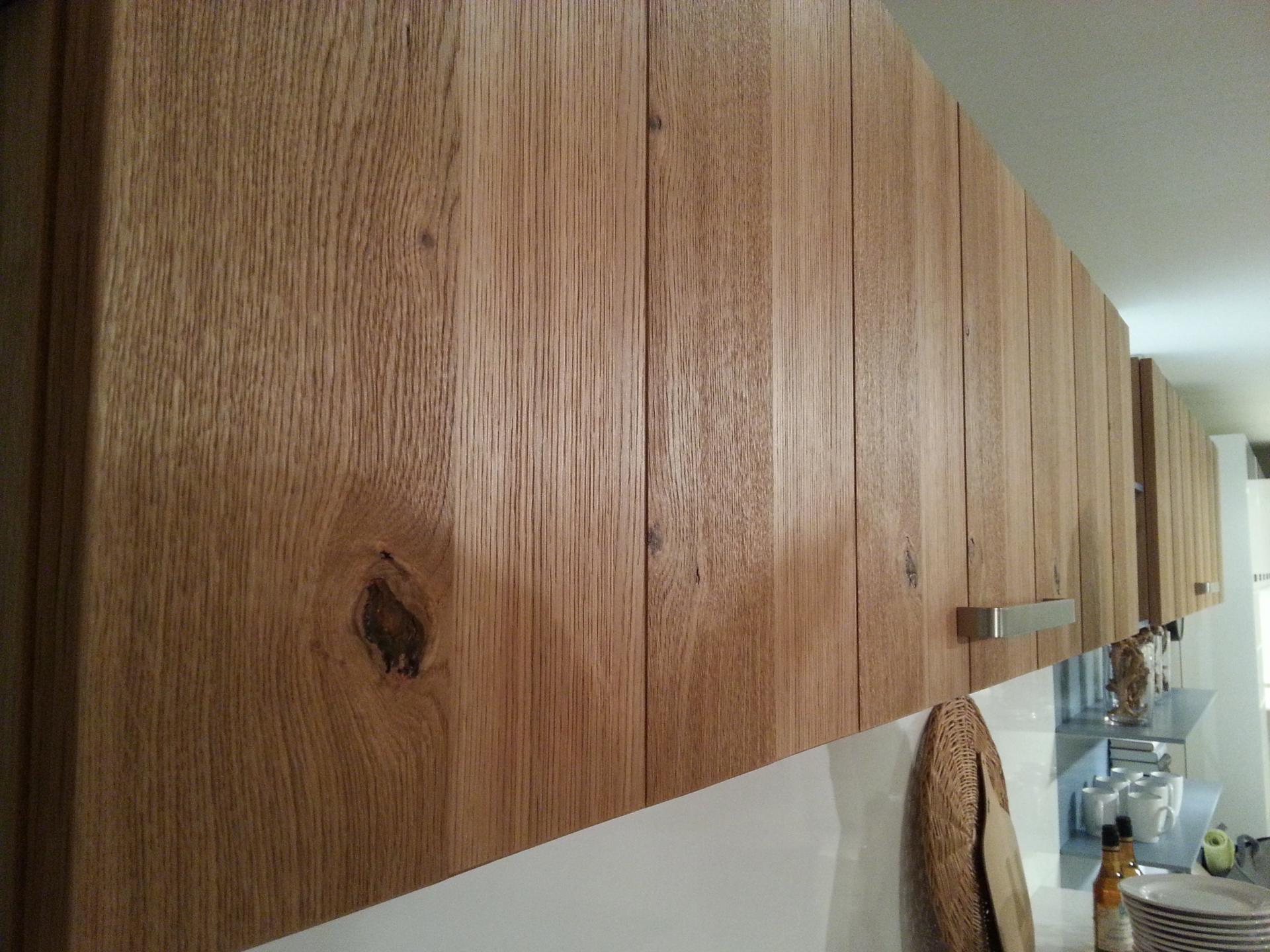 Modele De Cuisine En Bois Massif : Fa?ade de cuisine en bois massif moderne
