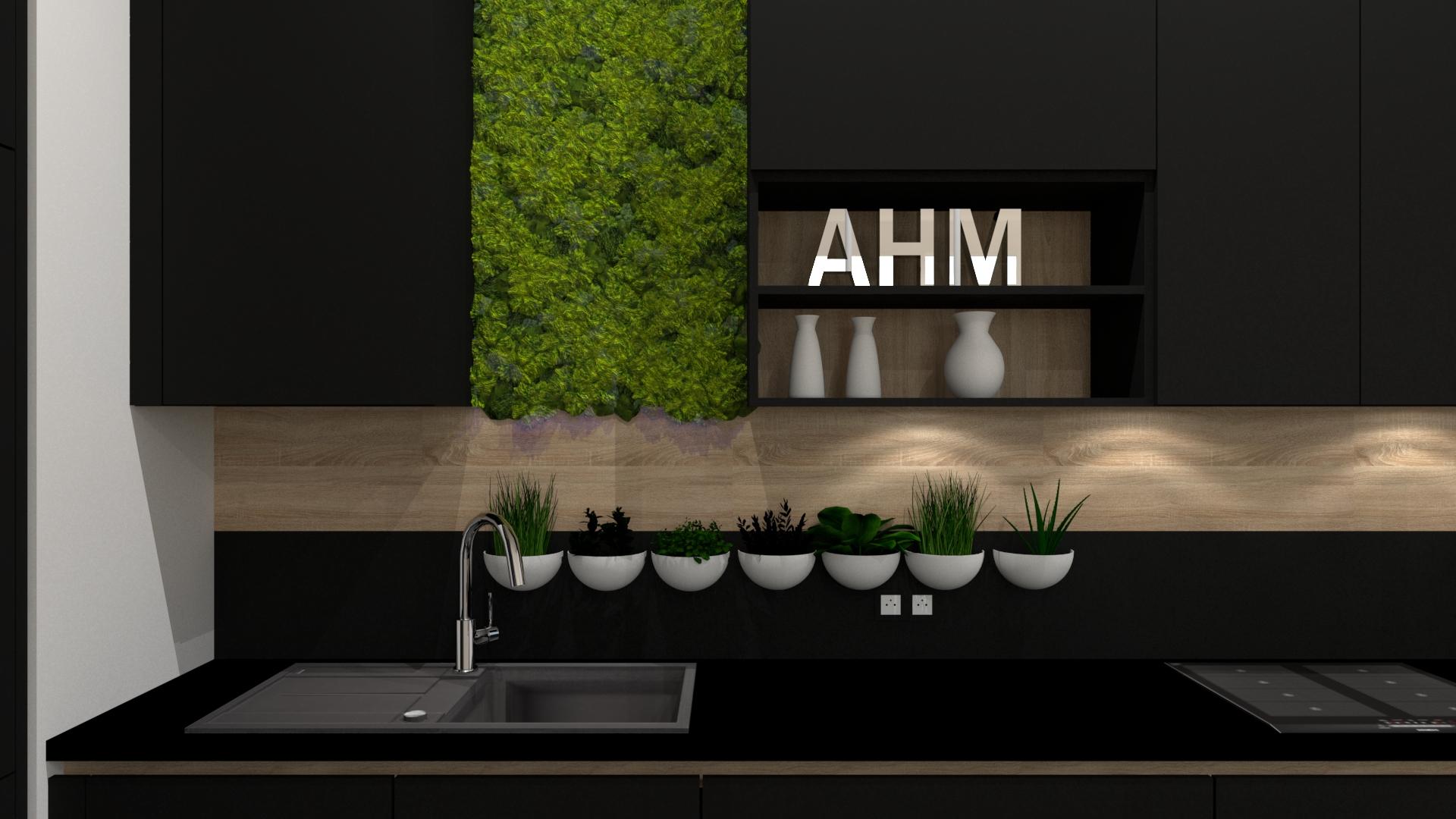 cuisine moderne lot noir et bois cuisiniste paris. Black Bedroom Furniture Sets. Home Design Ideas