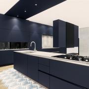 Grande cuisine design laque mate 1
