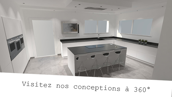 Realite virtuelle cuisine equipee